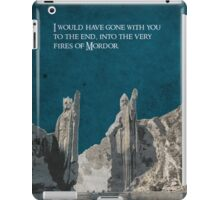 The Fellowship of the Ring inspired design (3). iPad Case/Skin