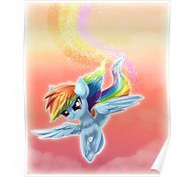 Sunset Rainboom Poster