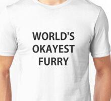 World's Okayest Furry Unisex T-Shirt