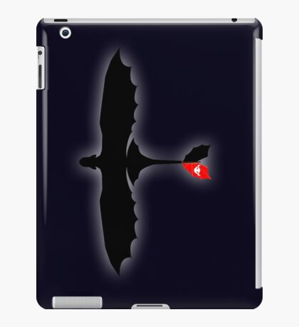 How to Train Your Dragon - Night Fury - Toothless Silhouette iPad Case/Skin
