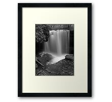 Ricochet Falls (version IV) Framed Print