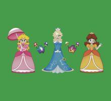 Super Mario Girls One Piece - Short Sleeve