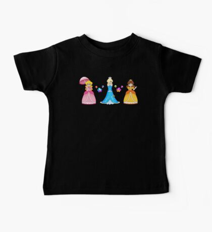 Super Mario Girls Baby Tee