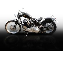 Indian Motorcycle. Photographic Print