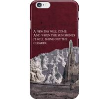 The Two Towers inspired design (3). iPhone Case/Skin
