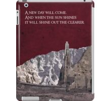 The Two Towers inspired design (3). iPad Case/Skin