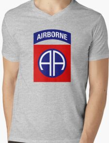 82nd Airborne Division (US Army) Mens V-Neck T-Shirt