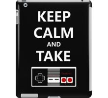 Keep Calm and Take Control iPad Case/Skin
