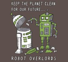 Robot Earth Baby Tee