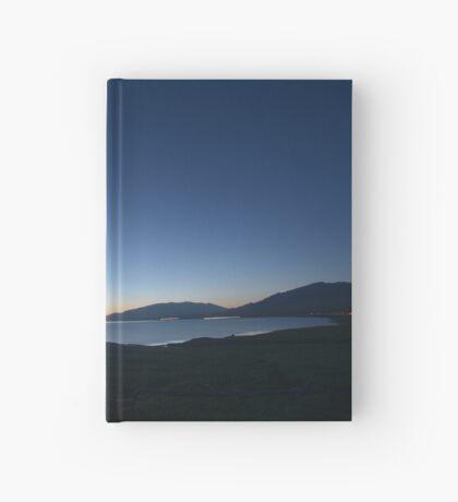 Tranquil Beginnings - Sunrise over Sayram Lake Hardcover Journal