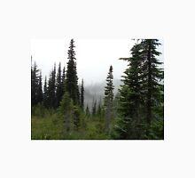 Mountain Forest - snow grass flats Unisex T-Shirt