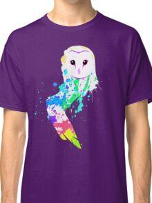 Barn Owl Splash Classic T-Shirt
