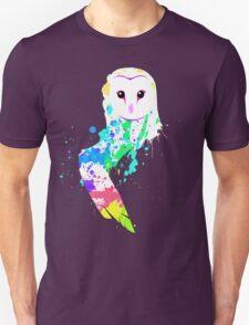 Barn Owl Splash T-Shirt