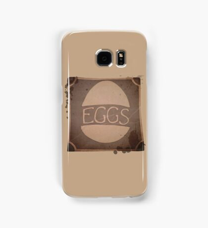 "Eggs Box ""Dare to be Square"" Samsung Galaxy Case/Skin"