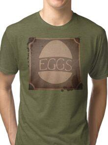 "Eggs Box ""Dare to be Square"" Tri-blend T-Shirt"