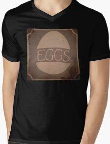 "Eggs Box ""Dare to be Square"" Mens V-Neck T-Shirt"