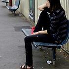 An Anxious Girl in 2010 by Chris Callaghan
