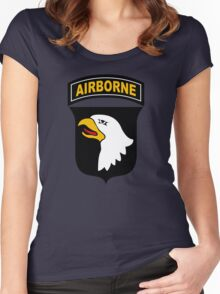 101st Airborne Division (US Army) Women's Fitted Scoop T-Shirt