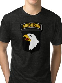 101st Airborne Division (US Army) Tri-blend T-Shirt