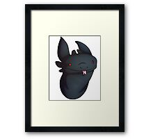 Grimm Derp Design Framed Print