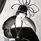 &quot;*Ritzy&quot; Roaring Twenties Lady with cloche by patjila