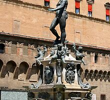 The Fountain of Neptune by Segalili