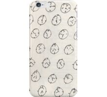 Time is a measurement - sketch book iPhone Case/Skin