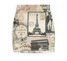 Paris Vintage Mini Skirt