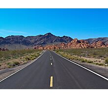 Scenic Road Photographic Print