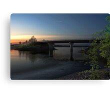 Windsor - Falmouth Bridge Canvas Print