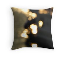 Feeling the Boat and the Water Throw Pillow