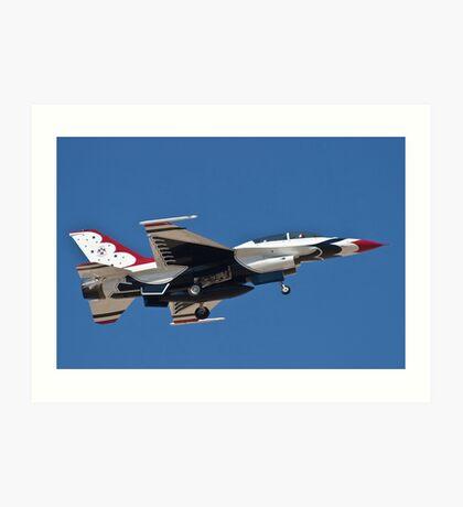 USAF Thunderbird Art Print