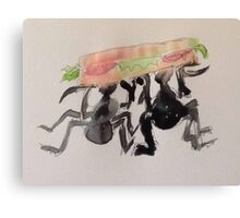 The Sandwich Thieves Canvas Print