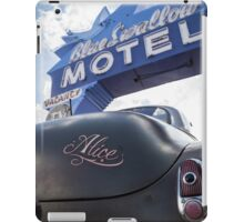Alice At The Blue Swallow Motel iPad Case/Skin
