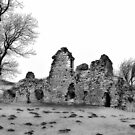 Ruins of Pendragon Castle  - Cumbria by Trevor Kersley