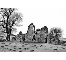 Ruins of Pendragon Castle  - Cumbria Photographic Print