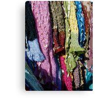 Whose Sari? Canvas Print