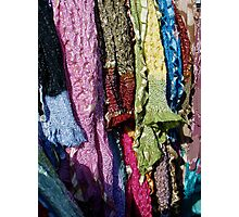 Whose Sari? Photographic Print