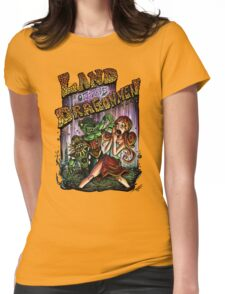 Land of the Dragonmen Womens Fitted T-Shirt