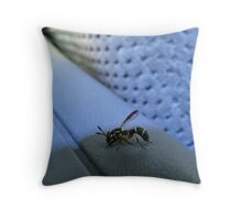 Unwelcome Guest Throw Pillow