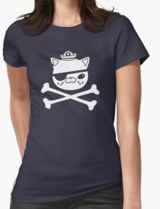 Kwazii Krossbones Womens Fitted T-Shirt