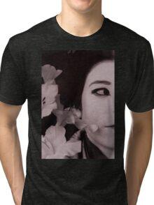 Half Japanese Series: FLOWER Tri-blend T-Shirt