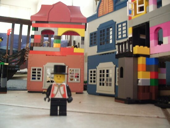 Mayor of Lego Town by johntbell