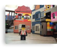 Mayor of Lego Town Canvas Print