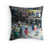 Lego Town Throw Pillow