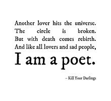 Kill Your Darlings Quote by Kelly Ni
