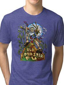 Old Master Fu Tri-blend T-Shirt