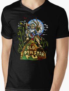 Old Master Fu Mens V-Neck T-Shirt