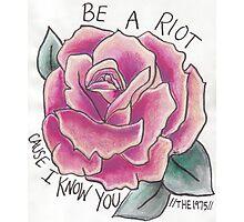 Riot Rose Photographic Print