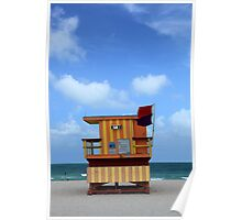 Miami South Beach USA Poster